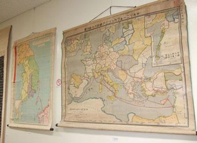 西洋史、東洋史の掛図