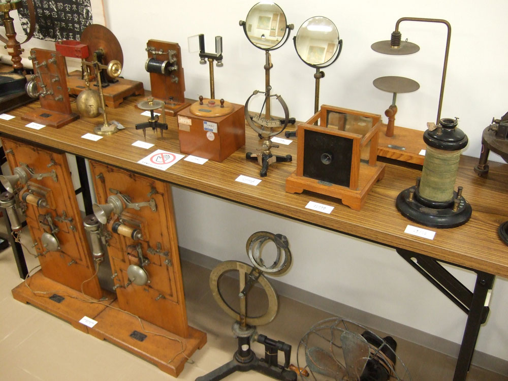 物理の実験機器