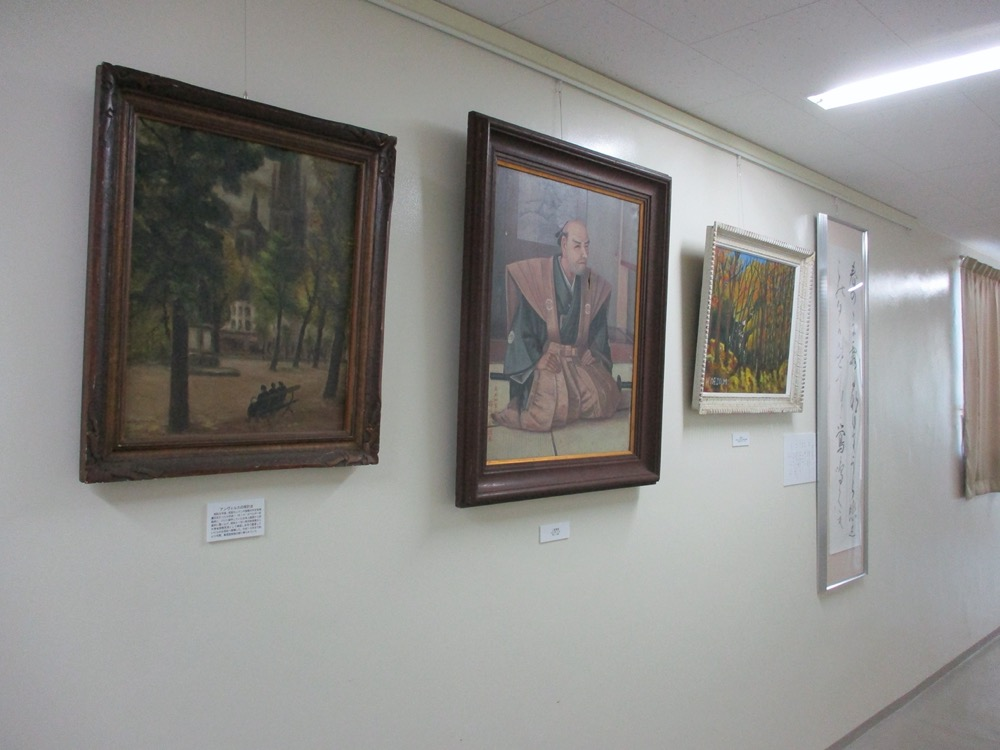 中等教育史料館の画廊